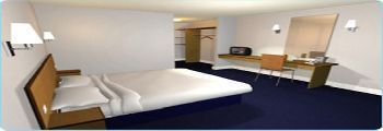 typical travelodge bedroom