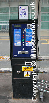 Hoppa Ticket Machine