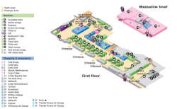 Heathrow airport terminal 5 history terminal five terminal 5 layout map click image to enlarge sciox Choice Image