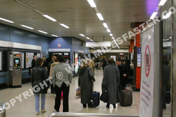 Internet Cafe Hammersmith Tube Station