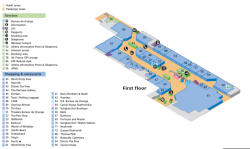 Heathrow airport terminal 2 information terminal two terminal 2 layout map click image to enlarge sciox Choice Image
